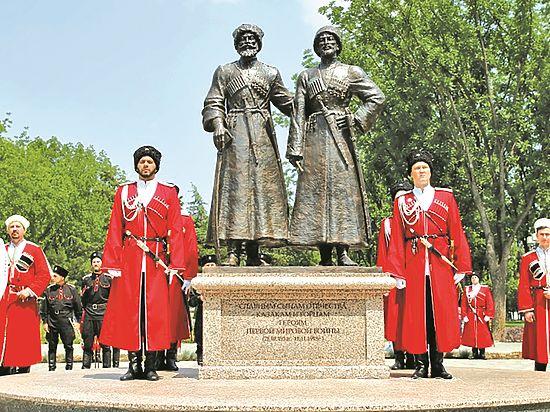 В Краснодаре открыли памятник героям Первой мировой войны