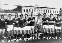 Как кубанские казаки в футбол играли
