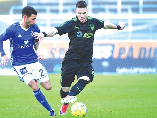 ФК «Краснодар» вышел в плей-офф квалификационного раунда Лиги Европы