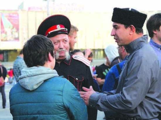 В   Краснодаре прошел несанкционированный митинг в поддержку московского оппозиционера