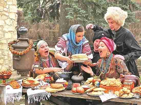 Как кубанские казаки весну привечали
