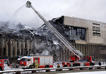 Пожар в библиотеке ИНИОН: источник, видимо, был в читальном зале